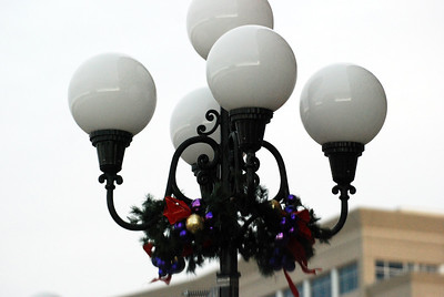 Holiday Light Pole